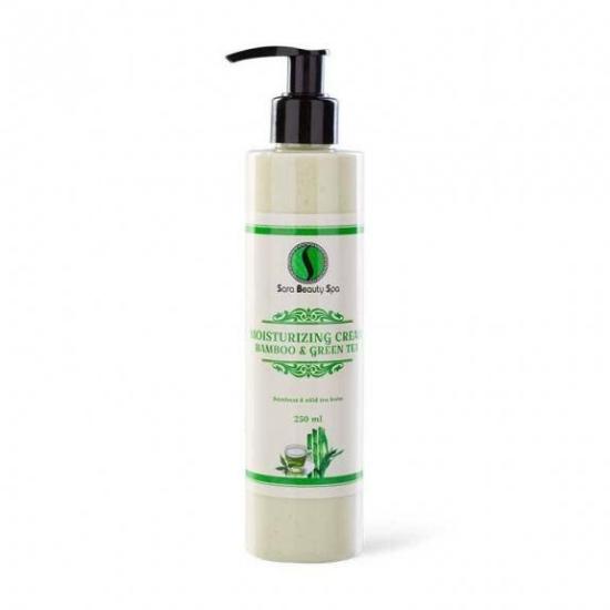 SBS Hidratáló kézkrém és testápoló - bambusz és zöld tea 250 ml