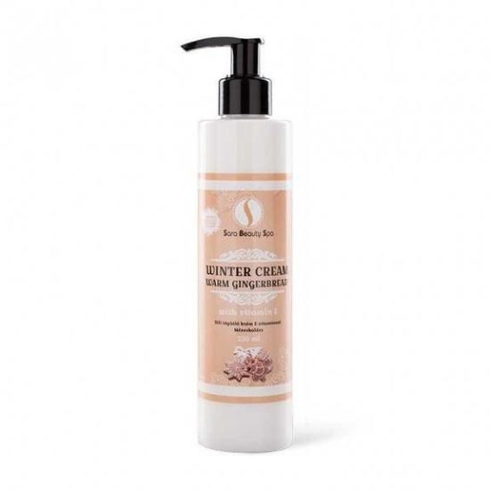 SBS Hidratáló kézkrém és testápoló - Mézeskalács illat 250ml