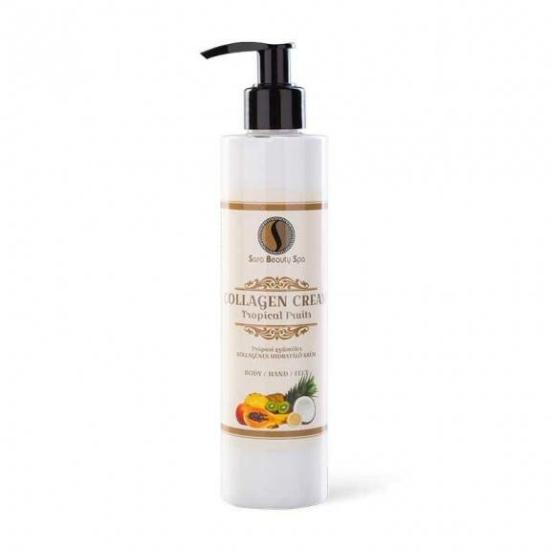 SBS Hidratáló kézkrém és testápoló - Trópusi gyümölcs 250ml