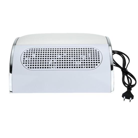 Fehér kéztámaszos 3 ventilátoros porelszívó porzsákkal 40W