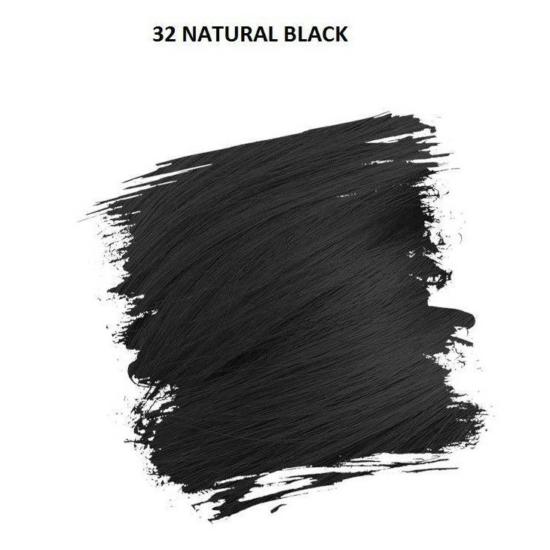Crazy Color Színezőkrém - 32 natural black - 100ml