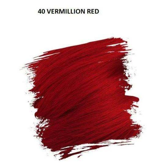 Crazy Color Színezőkrém - 40 vermillion red - 100ml