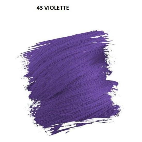 Crazy Color Színezőkrém - 43 violette - 100ml