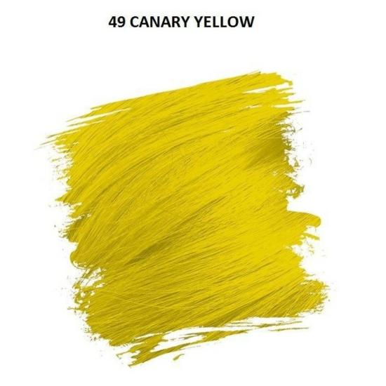 Crazy Color Színezőkrém - 49 canary yellow - 100ml