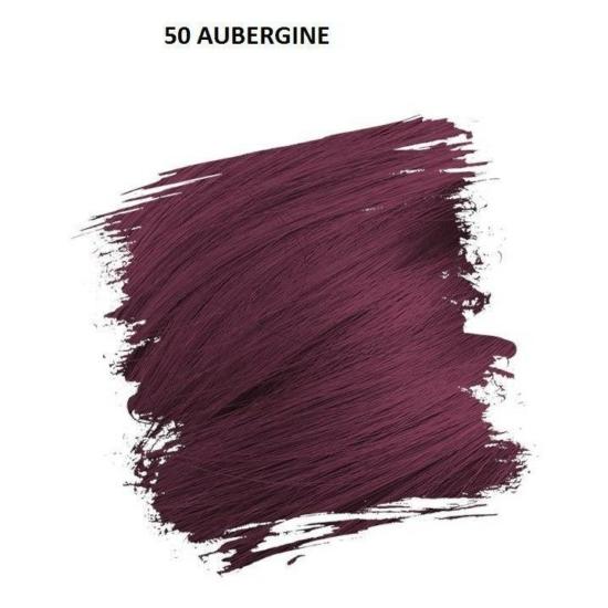 Crazy Color Színezőkrém - 50 aubergine - 100ml