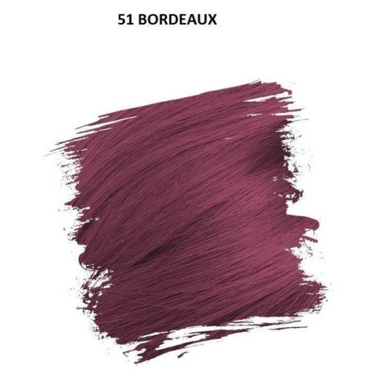 Crazy Color Színezőkrém - 51 bordeaux - 100ml