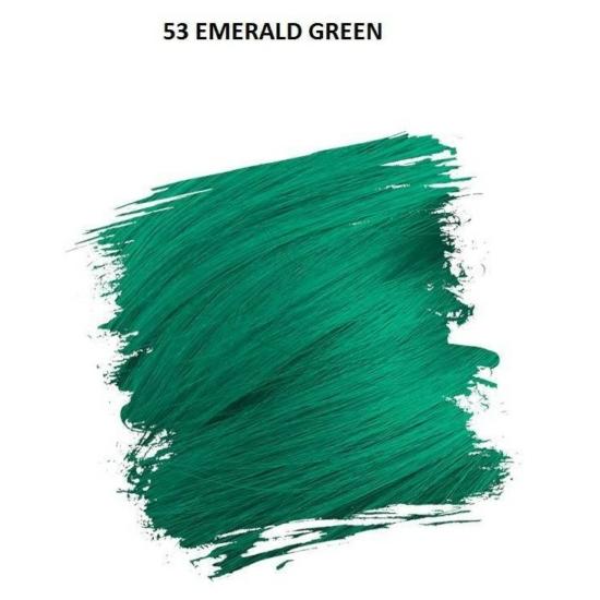 Crazy Color Színezőkrém - 53 emerald green - 100ml