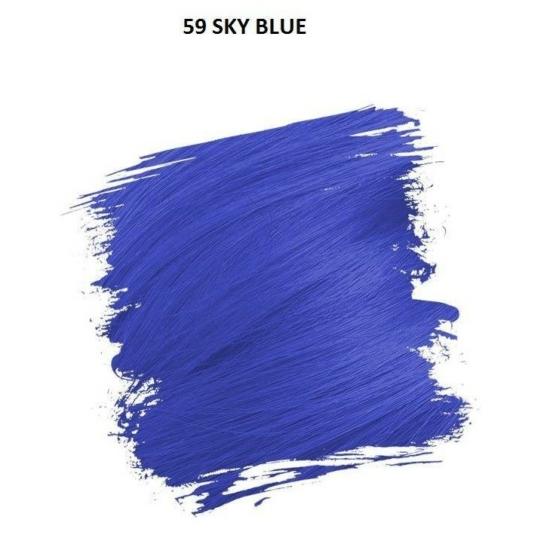 Crazy Color Színezőkrém - 59 sky blue - 100ml