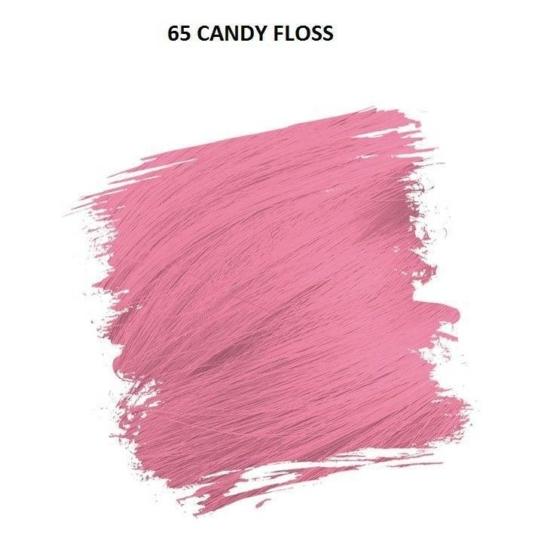 Crazy Color Színezőkrém - 65 candy floss - 100ml