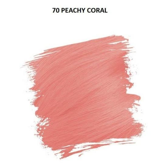 Crazy Color Színezőkrém - 70 peachy coral - 100ml