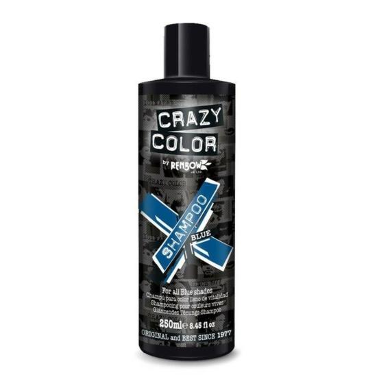 Crazy Color Vibrant Color Sampon - Blue - 250ml