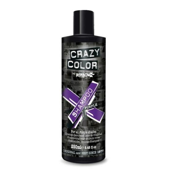 Crazy Color Vibrant Color Sampon - Purple - 250ml