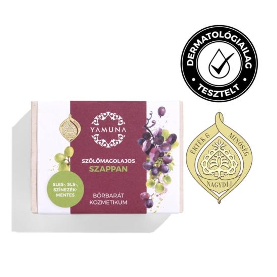 Yamuna prémium szappan szőlőmagolajos növényi 100g