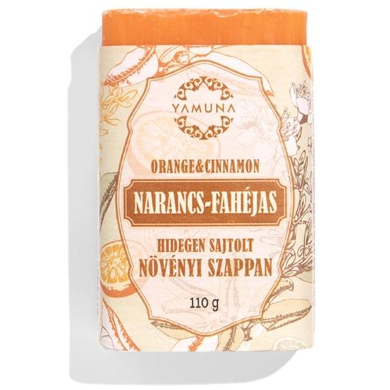 Yamuna Hidegen sajtolt Narancs-fahéj szappan 110g