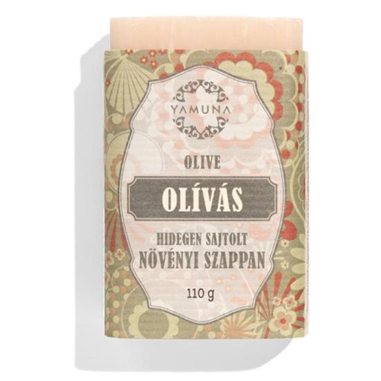 Yamuna Hidegen sajtolt Olivás szappan 110g