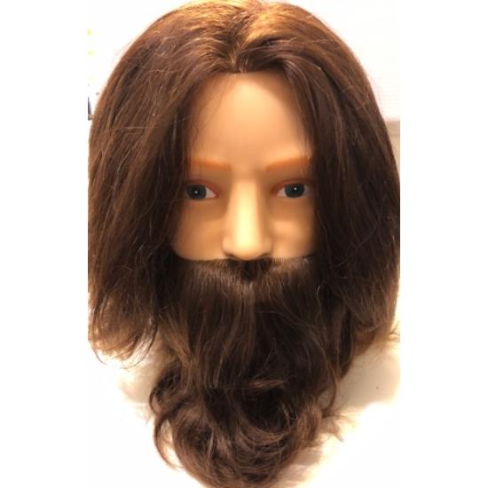 Kiepe férfi szakállas-bajszos babafej