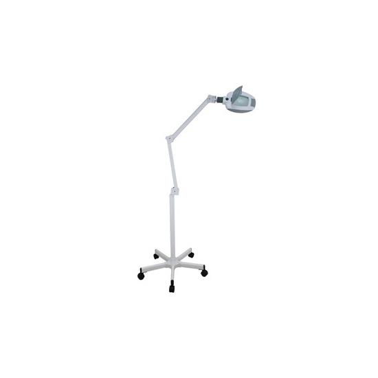 LED-es nagyítós lámpa állvánnyal