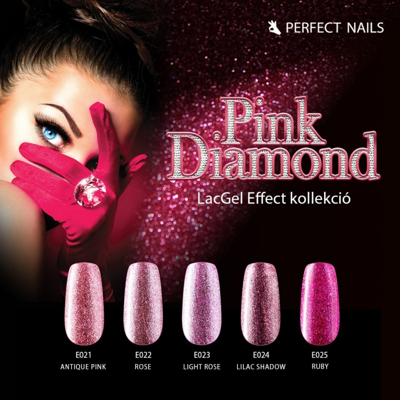 PN LacGel Effect - Pink Diamond Gél Lakk Szett 5x8ml