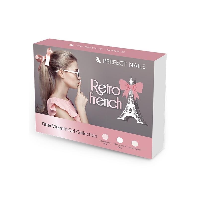 PN Retro French - Fiber Vitamin Gel - Üvegszálas Alapzselé Kollekció