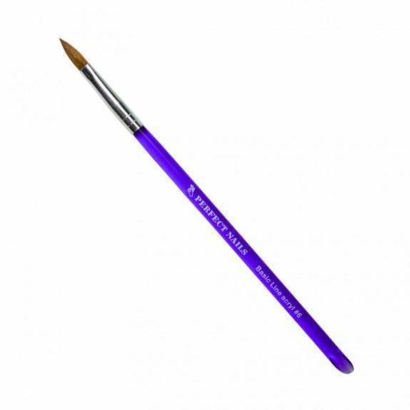 Perfect Nails Porcelán ecset - Basic Line 6