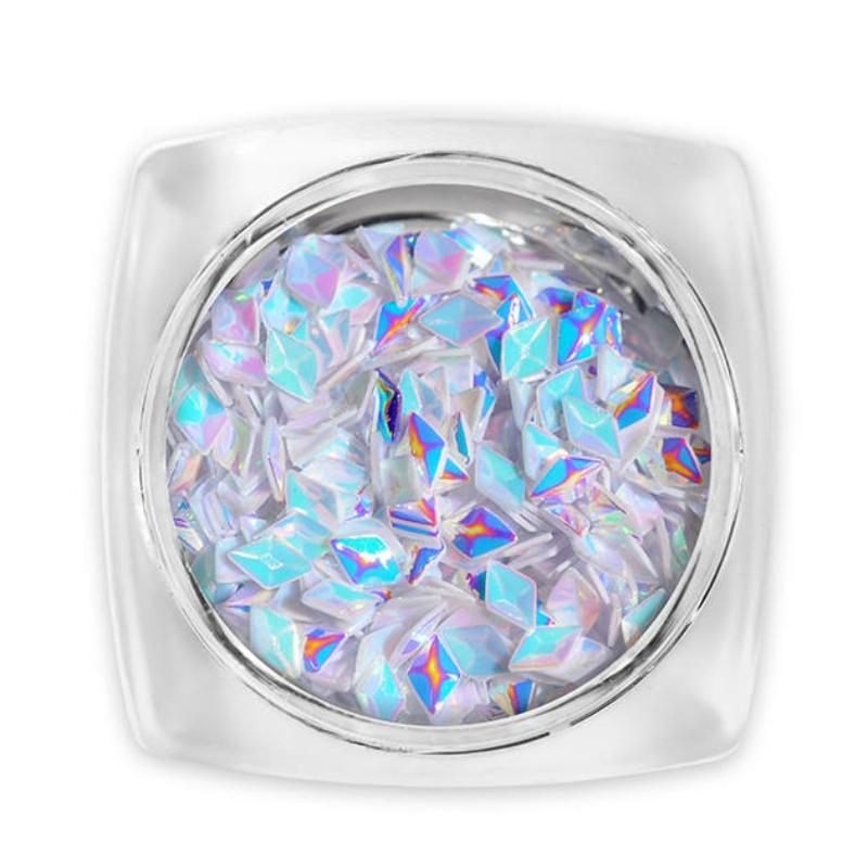 Pearl 3D Gyémánt flitter - orgonalila G9