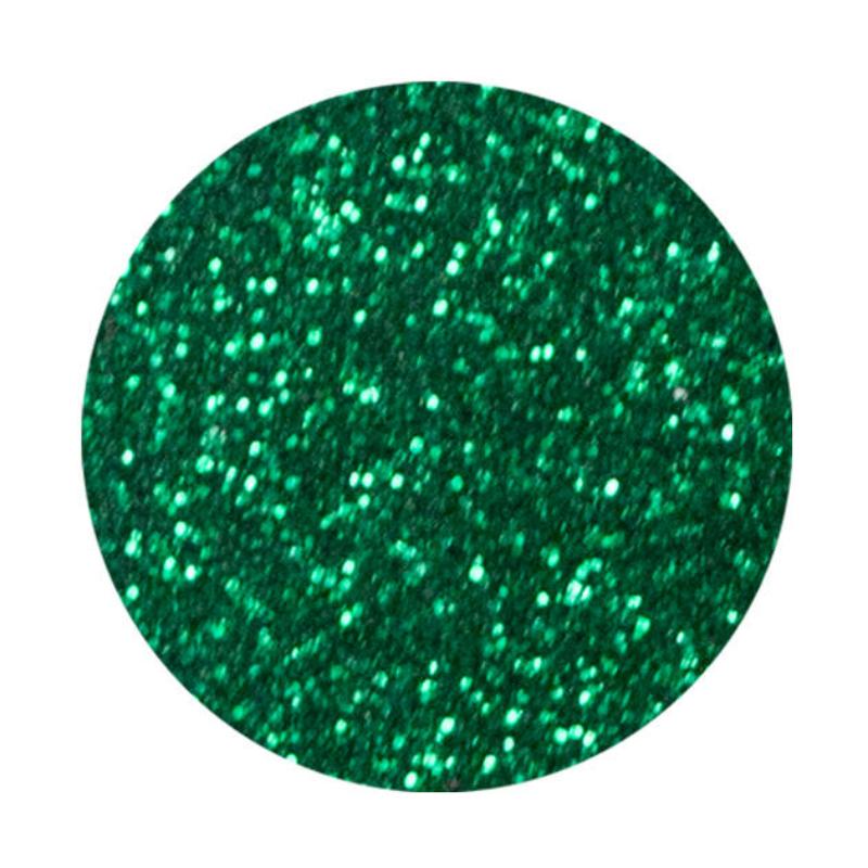 Pearl glitter spray - deep green