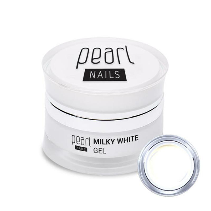 Pearl Milky White tejfehér építőzselé 15ml