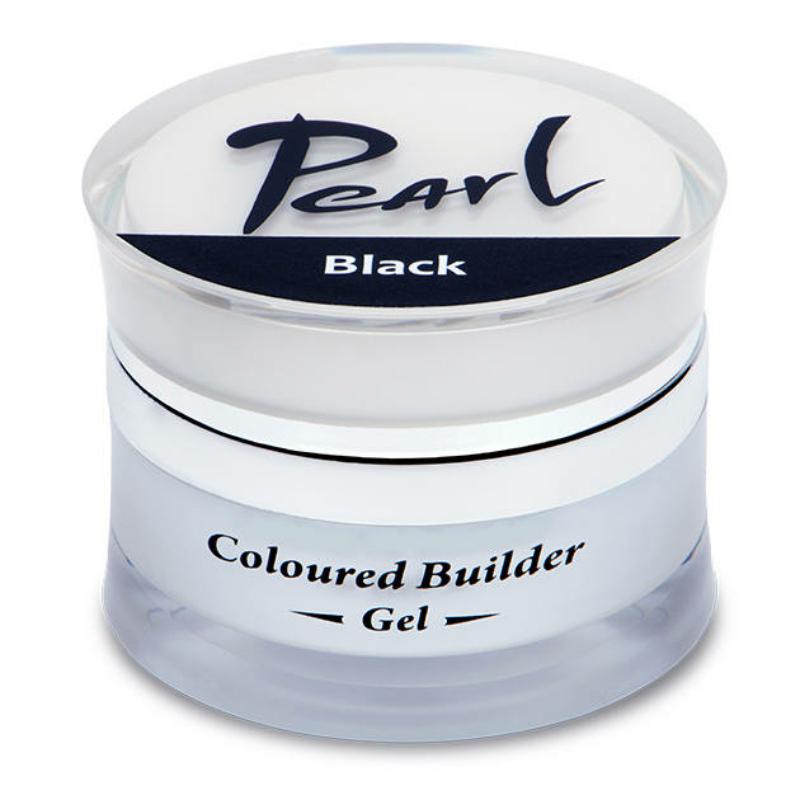 Pearl színes építő zselé Fekete