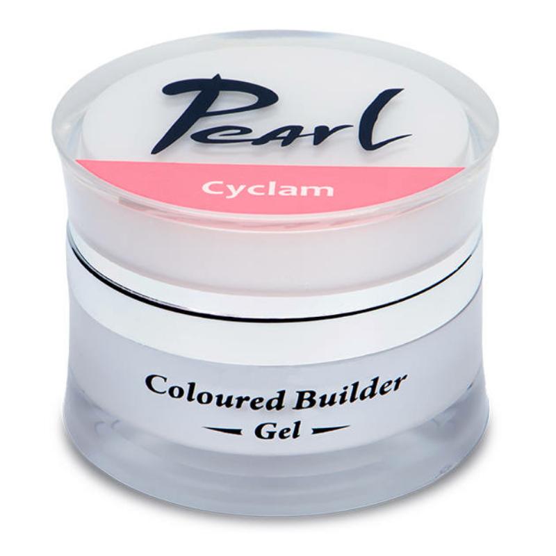 Pearl színes építő zselé Ciklámen