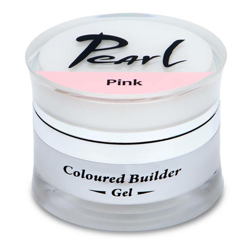 Pearl színes építő zselé Pink