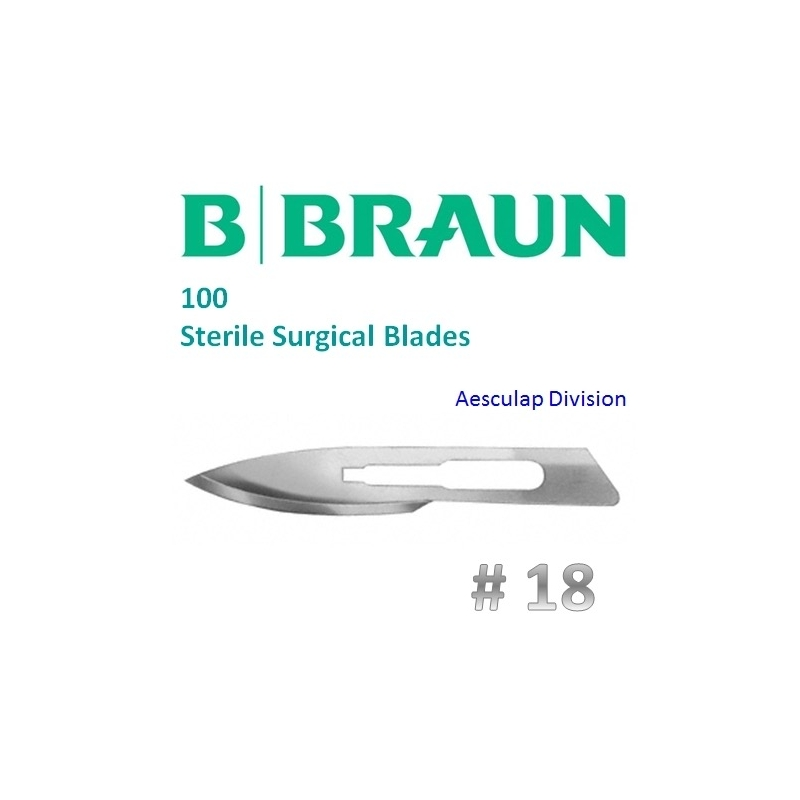 B.Braun Aesculap 18 szikepenge