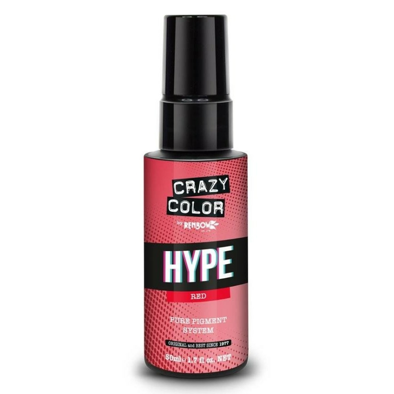 Crazy Color HYPE POWER Pure Pigment - Red