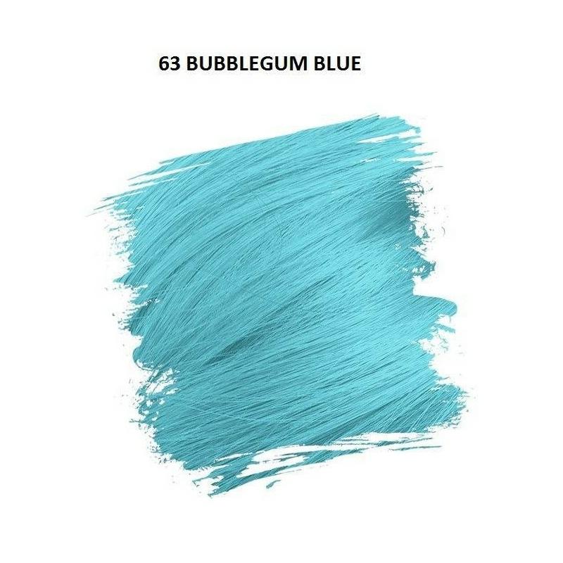 Crazy Color Színezőkrém - 63 bubblegum blue - 100ml