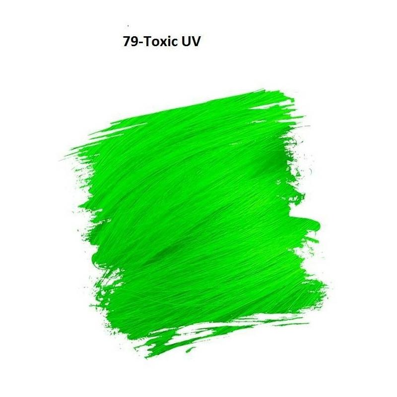 Crazy Color Színezőkrém - 79 toxic UV - 100ml