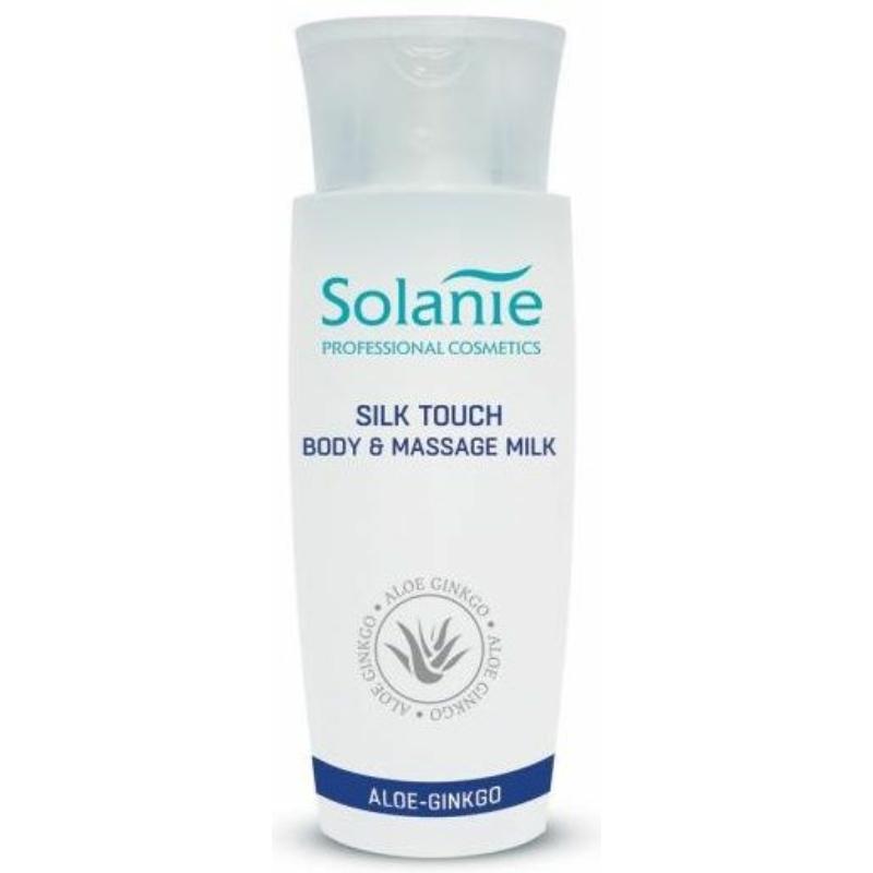Solanie Silk Touch Nyak- dekoltázs és testápoló tej 150 ml