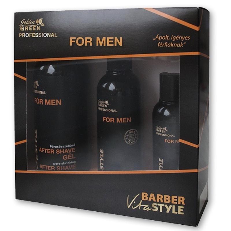 GG VitaSTYLE FOR MEN Ápoló csomag elixírrel