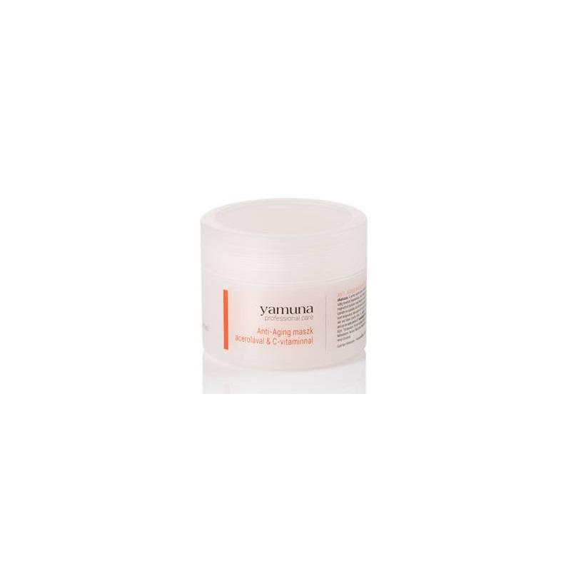 Yamuna Anti-aging maszk acerolával és C-vitaminnal 80g