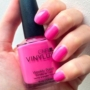 Kép 2/2 - CND VinyLux Hot Pop Pink 15ml
