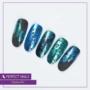 Kép 3/5 - Perfect Nails Chrome Powder - Körömdíszítő Krómpor Kék