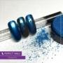 Kép 2/5 - Perfect Nails Chrome Powder - Körömdíszítő Krómpor Kék