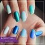 Kép 4/5 - Perfect Nails Chrome Powder - Körömdíszítő Krómpor Kék