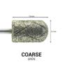 Kép 2/2 - Pearl Hengeres gyémánt csiszolófej pedikűrhöz kereszt vágott (Erős)