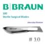Kép 2/3 - B.Braun Aesculap 10 szikepenge