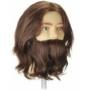 Kép 2/2 - Kiepe férfi szakállas-bajszos babafej