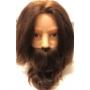 Kép 1/2 - Kiepe férfi szakállas-bajszos babafej